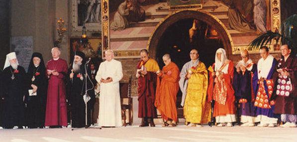 """""""Our Lady"""" of Bayside promotes Anti-Pope John Paul II's Assisi Interreligious Apostasy"""