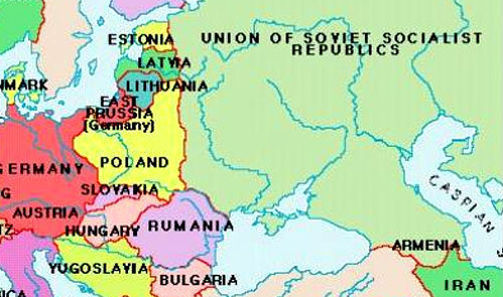 Germany Map Before Wwii.Of Eastern Europe During Wwii Here S What It Is Like In Russia S