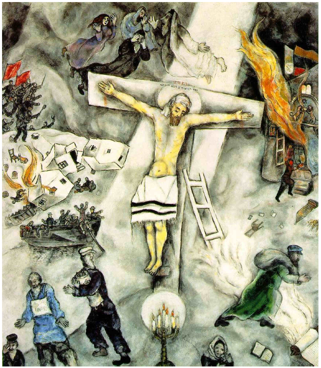the catholic church | catholic churches Chagall White Crucifixion