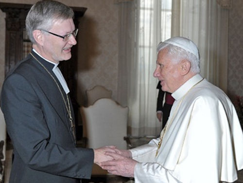 Lutheran 'Bishop' of Mikkeli address to Benedict XVI