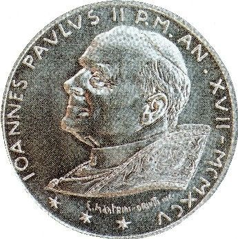 Anti-Pope John Paul II Antichrist Vatican Coin with 666