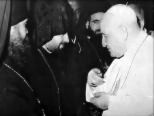 Anti-Pope John XXIII with Eastern Schismatics