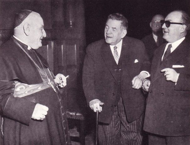 Anti Pope John XXIII with radical socialists