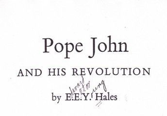 Anti Pope John XXIII's Revolution
