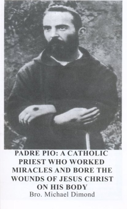 Padre Pio book included with UFO Book