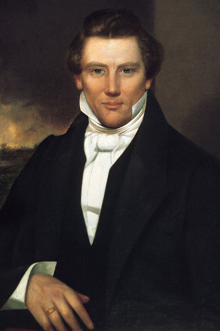 Joseph Smith, 'prophet' of the Mormon sect