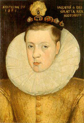King James I, at age 20