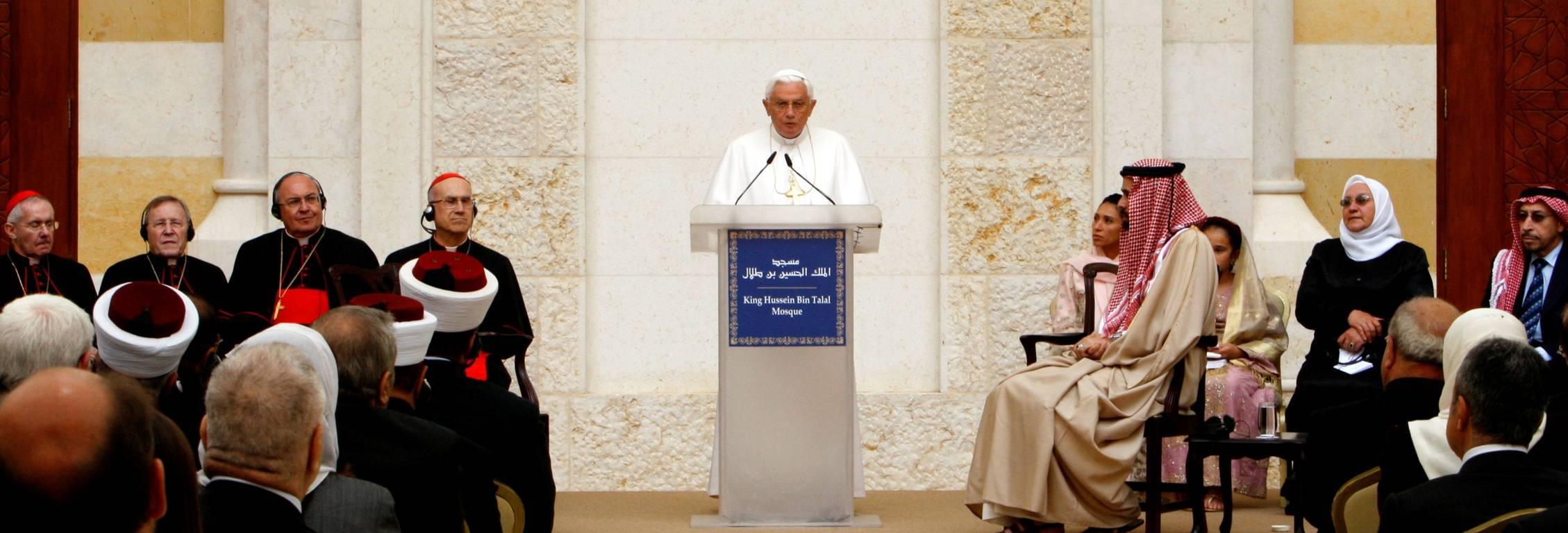 Anti Pope Benedict XVI Al-Hussein Bin Talal Mosque
