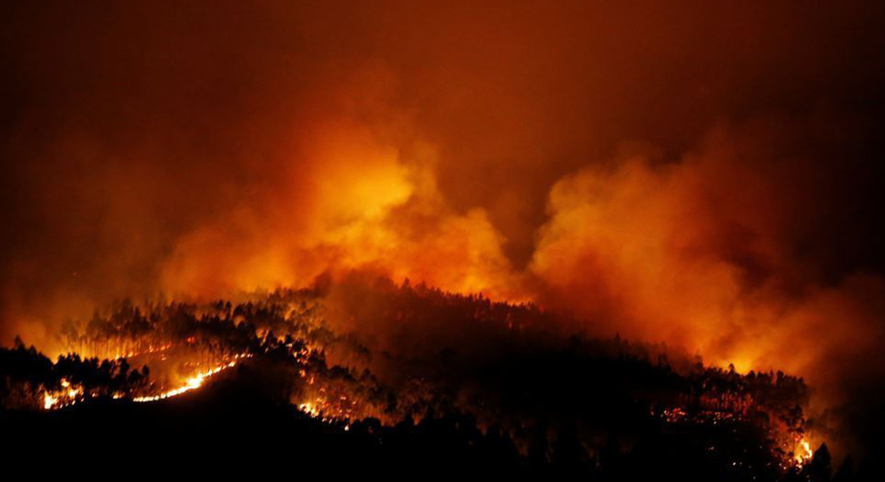 Major Forest Fire Near Fatima, Portugal, Evokes Images Of the Vision of Hell