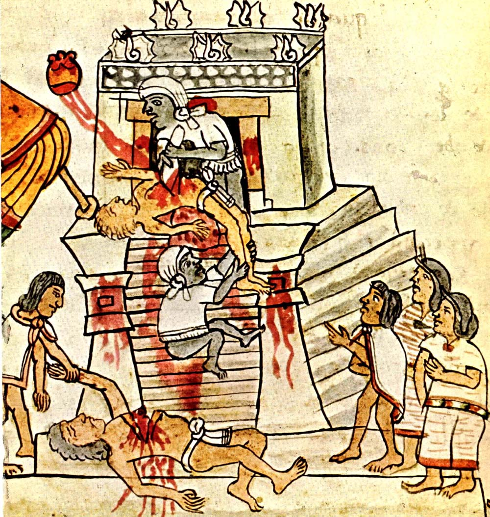 The satanic Aztec culture